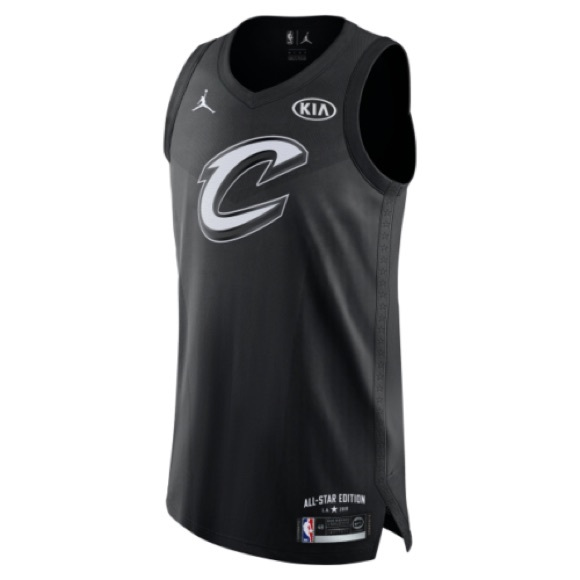 hot sale online 6e8c0 227ec NIKE LEBRON JAMES 2018 ALL STAR JORDAN JERSEY NWT